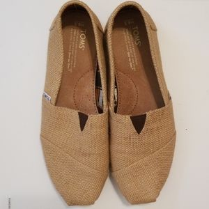 Men's Burlap Canvas Loafers